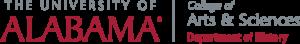 UA Department of history